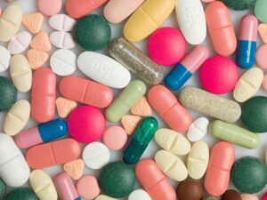 A varied group of medicines